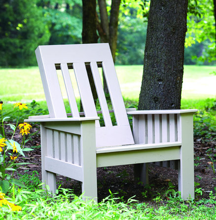 Morris Style Outdoor Chair